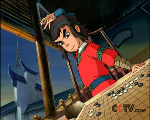 动画城:围棋少年