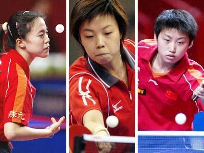 乒乓球世界杯赛是国际乒联积分排名中仅次于奥