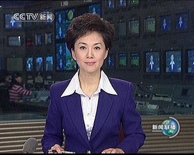 女主播海霞亮相《新闻联播》