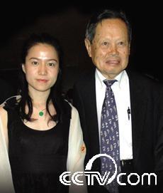 杨振宁和妻子
