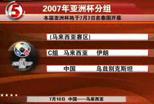 亚洲杯分组形势